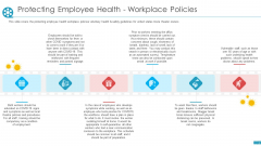 COVID Business Survive Adapt Post Recovery Strategy Cinemas Protecting Employee Health Workplace Policies Template PDF