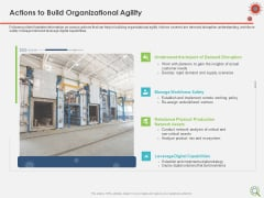 COVID Implications On Manufacturing Business Actions To Build Organizational Agility Information PDF