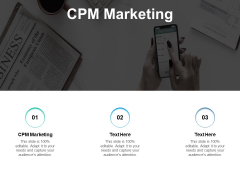 CPM Marketing Ppt PowerPoint Presentation Ideas Layouts Cpb