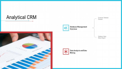 CRM Analytical CRM Ppt Infographics Icon PDF