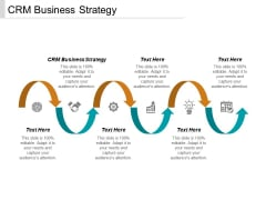 CRM Business Strategy Ppt PowerPoint Presentation Infographic Template Brochure Cpb