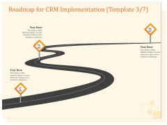 CRM Consulting Roadmap For CRM Implementation Ppt Infographic Template Example 2015 PDF