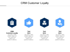 CRM Customer Loyalty Ppt PowerPoint Presentation Model Background Images Cpb