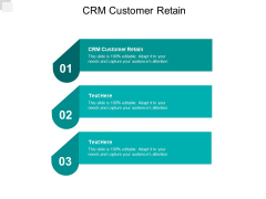 CRM Customer Retain Ppt PowerPoint Presentation Professional Clipart Cpb
