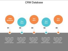 CRM Database Ppt PowerPoint Presentation Summary Portfolio Cpb