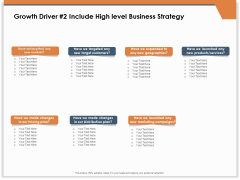 CRM For Real Estate Marketing Growth Driver 2 Include High Level Business Strategy Ppt Summary Outline PDF