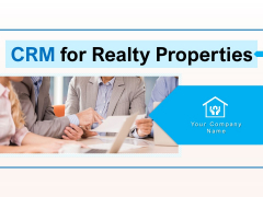 CRM For Realty Properties Ppt PowerPoint Presentation Complete Deck With Slides