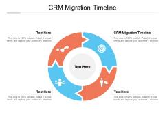 CRM Migration Timeline Ppt PowerPoint Presentation Model Portrait Cpb