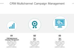 CRM Multichannel Campaign Management Ppt PowerPoint Presentation Background Cpb Pdf