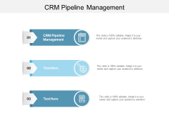 CRM Pipeline Management Ppt PowerPoint Presentation Templates Cpb