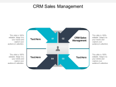 CRM Sales Management Ppt PowerPoint Presentation File Model Cpb