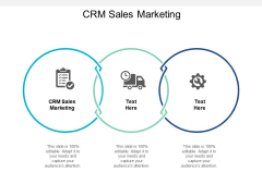 CRM Sales Marketing Ppt PowerPoint Presentation File Ideas Cpb