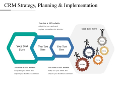 CRM Strategy Planning And Implementation Ppt PowerPoint Presentation Diagram Lists