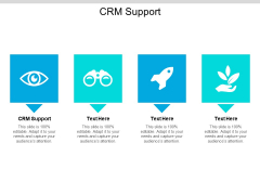 CRM Support Ppt PowerPoint Presentation Inspiration Professional Cpb