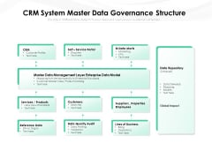 CRM System Master Data Governance Structure Ppt PowerPoint Presentation Slides Layouts PDF