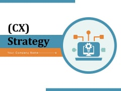 CX Strategy Strategy Marketing Ppt PowerPoint Presentation Complete Deck