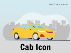 Cab Icon Individual Booking Smartphone Ppt PowerPoint Presentation Complete Deck
