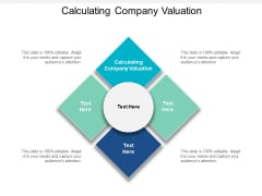 Calculating Company Valuation Ppt PowerPoint Presentation Summary Guide Cpb