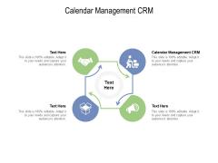 Calendar Management CRM Ppt PowerPoint Presentation Icon Backgrounds Cpb Pdf