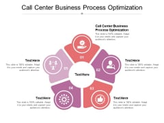 Call Center Business Process Optimization Ppt PowerPoint Presentation Summary Objects Cpb