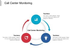 Call Center Monitoring Ppt PowerPoint Presentation Icon Deck Cpb