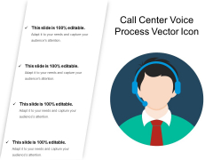 Call Center Voice Process Vector Icon Ppt PowerPoint Presentation Icon Styles PDF