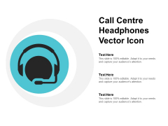 Call Centre Headphones Vector Icon Ppt Powerpoint Presentation Summary Slide Download
