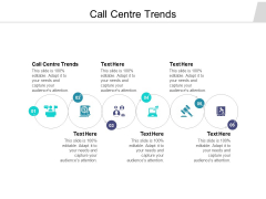 Call Centre Trends Ppt PowerPoint Presentation Ideas Pictures Cpb Pdf