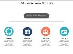 Call Centre Work Structure Ppt PowerPoint Presentation Infographic Template File Formats Cpb