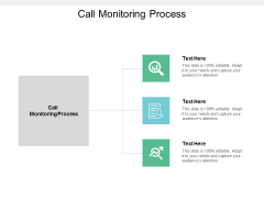 Call Monitoring Process Ppt PowerPoint Presentation Model Pictures Cpb