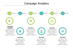 Campaign Analytics Ppt PowerPoint Presentation Icon Gallery Cpb Pdf