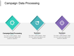 Campaign Data Processing Ppt PowerPoint Presentation Infographics Background Cpb