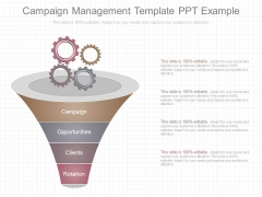 Campaign Management Template Ppt Example
