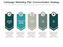 Campaign Marketing Plan Communication Strategy Marketing Franchisee Form Ppt PowerPoint Presentation Gallery Rules