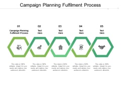 Campaign Planning Fulfilment Process Ppt PowerPoint Presentation Ideas Slideshow Cpb