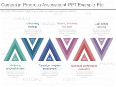 Campaign Progress Assessment Ppt Example File