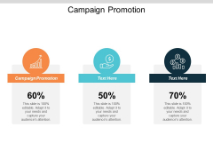 Campaign Promotion Ppt PowerPoint Presentation Ideas Designs Cpb