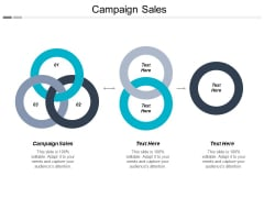 Campaign Sales Ppt PowerPoint Presentation Outline Background Cpb