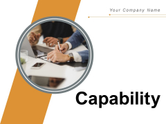 Capability Growth Idea Ppt PowerPoint Presentation Complete Deck