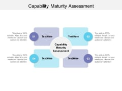Capability Maturity Assessment Ppt PowerPoint Presentation Infographic Template Information Cpb