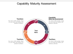 Capability Maturity Assessment Ppt PowerPoint Presentation Summary Examples Cpb Pdf