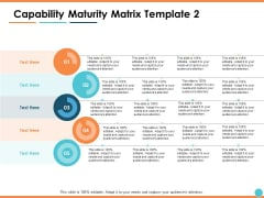 Capability Maturity Matrix Marketing Ppt PowerPoint Presentation Layouts Pictures