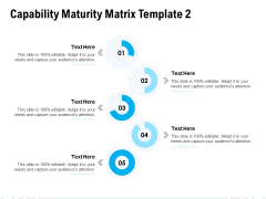 Capability Maturity Matrix Template Ppt PowerPoint Presentation Layouts Gridlines