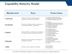 Capability Maturity Model Ppt PowerPoint Presentation Gallery