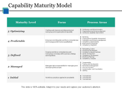 Capability Maturity Model Ppt PowerPoint Presentation Styles Files