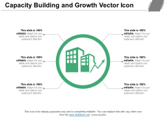 Capacity Building And Growth Vector Icon Ppt PowerPoint Presentation Show Format PDF