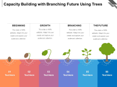 Capacity Building With Branching Future Using Trees Ppt PowerPoint Presentation Icon Template PDF