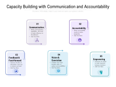 Capacity Building With Communication And Accountability Ppt Infographics Slides PDF