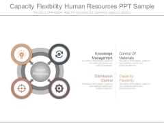 Capacity Flexibility Human Resources Ppt Sample