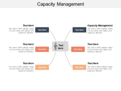 Capacity Management Ppt PowerPoint Presentation Ideas Icons Cpb